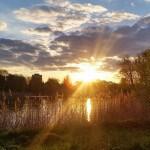 Zachód słońca na Warmii i Mazurach