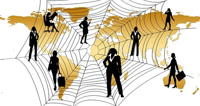 Postaci w pajęczej sieci