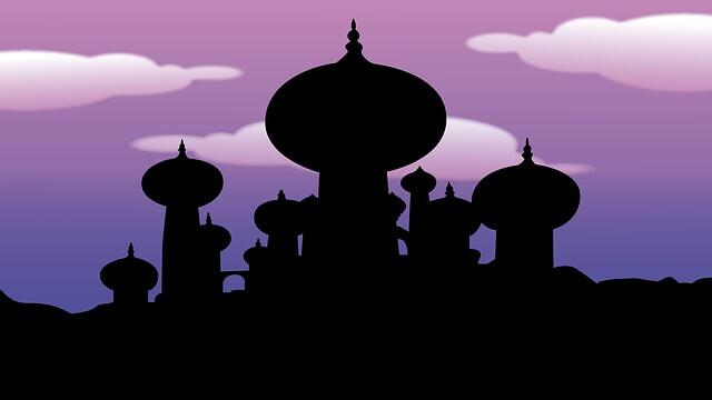 pałac z aladyna