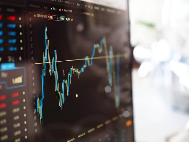Wykres wygarzeń w obligacjach