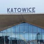 Widok na dworzec w Katowicach
