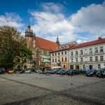 Rynek w Kazimierzu w Krakowie