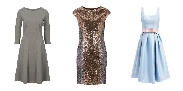 Trzy fasony modnych sukienek wyjściowych