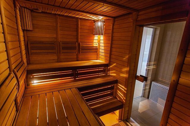 Wejście do sauny