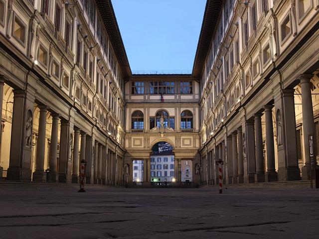 Galeria Uffizi we Włoszech