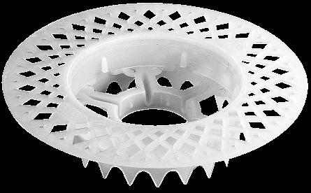 talerz dociskowy z perforatorem termoizolacji