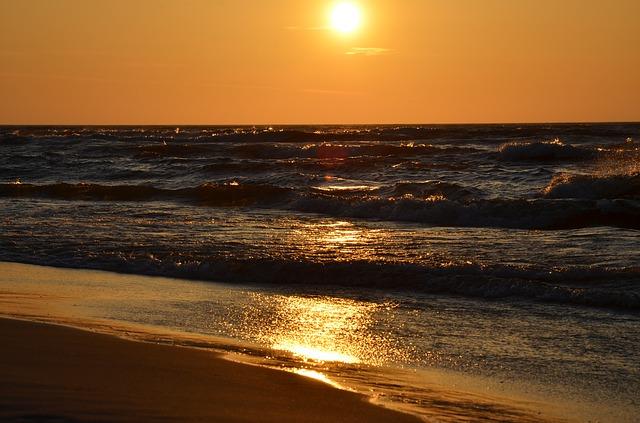 Plaża w Międzyzdrojach