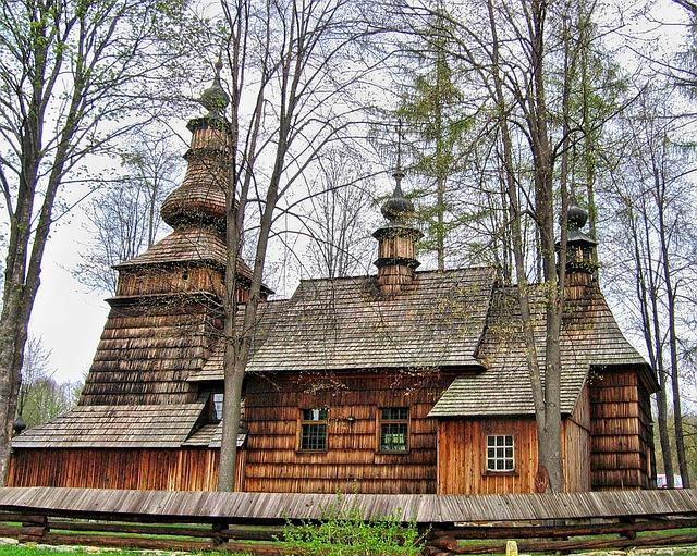 Cerkiew drewniana w Beskidzie Niskim