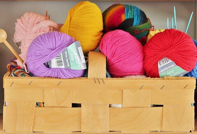 Zrobić szalik na drutach