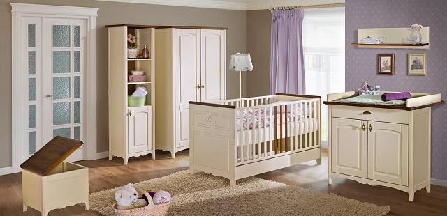łóżeczko niemowlęce dla dziewczynki